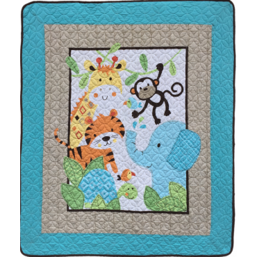 ALL COTTON QUILTS/BLANKETS PERFECT FOR KIDS & BABIES: 43*51''