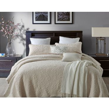 Celine Quilt/Coverlet Set (SUPER QUEEN SIZE)