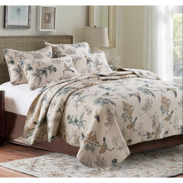Leah Quilt/Coverlet Set (SUPER QUEEN SIZE)