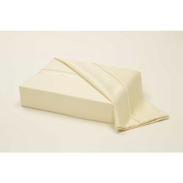 Athena Egyptian Cotton Sateen Fitted Sheet-IVORY