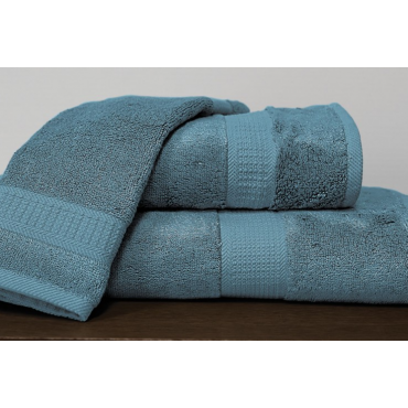 Bamboo Towels- Peacock Blue