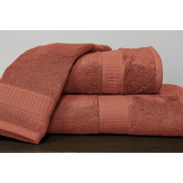 Bamboo Towels- Terra Cotta Red