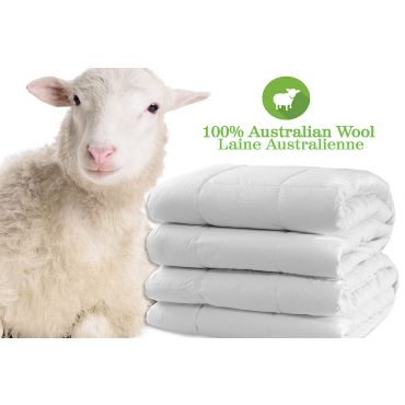 Australian Fleece Wool Duvet-Allseason Warmth