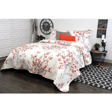 ALAMODE BRIELLE QUILT/COVERLET