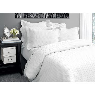 Dover Duvet Cover Set-White
