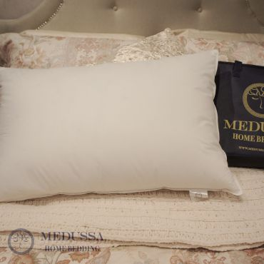 Eskimo White Goose Down Pillow (Medium Firm)