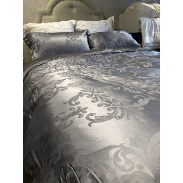MEDUSSA SIGNATURE SILK DUVETCOVER /GREY COLOR