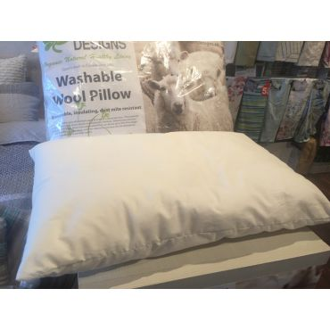 Washable New Zealand Wool Pillows (kids size available)