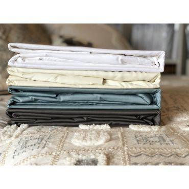 Luxury Bamboo Rayon Fitted Sheet