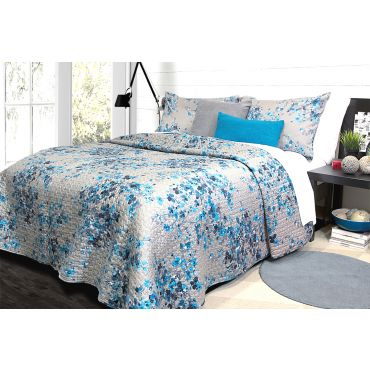 ALAMODE HYCROFT QUILT/COVERLET