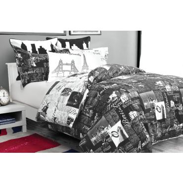 My Passport Duvet Cover Set (Black)