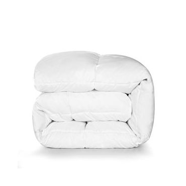 [100% MADE IN CANADA] Hutterite White Goose Down Duvet-All Season Warmth