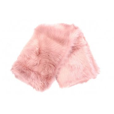 Sorbet Faux Fur Throw