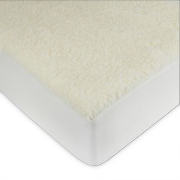 Signature Wool Mark Certified Wool Fleece Mattress Pad