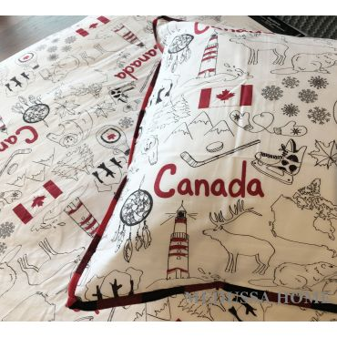 YES CANADA PILLOW CASE