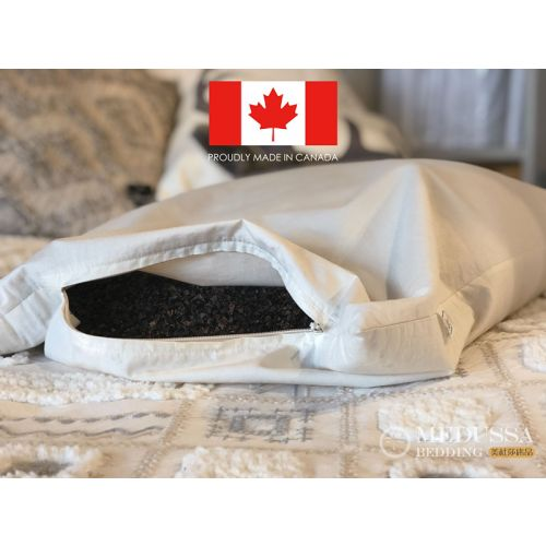 Buckwheat Hull Pillow-100% Organic Made in Canada