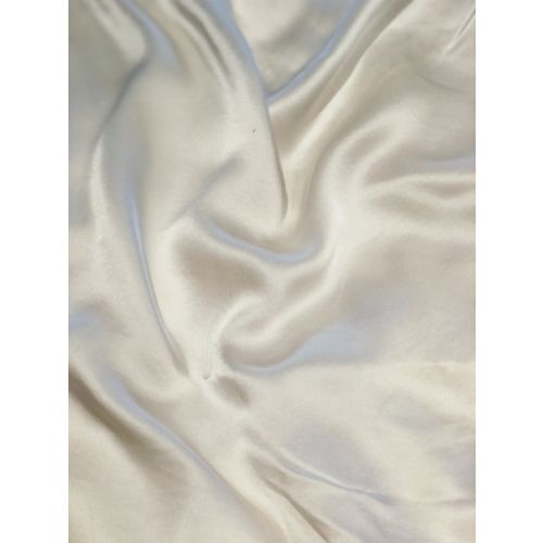 Medussa Pure Solid Ivory Silk Pillow Case
