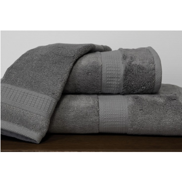 Bamboo Towels-Charcoal Grey