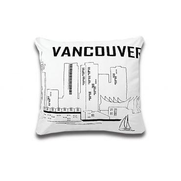 Hello Vancouver 靠枕