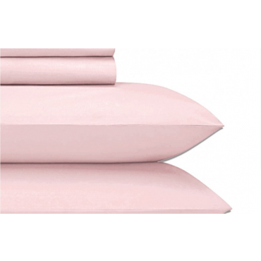 Jubilee Cotton Sateen 4-PC Sheet Set-PINK