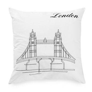 Hello London 靠枕