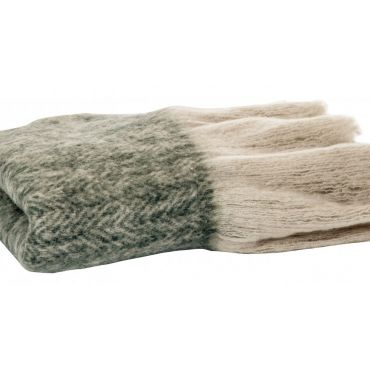 MOHAIR THROW