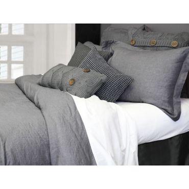 100% 亚麻-Morgan 三件套-灰色