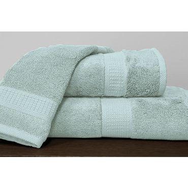竹纤维毛巾 - 水蓝